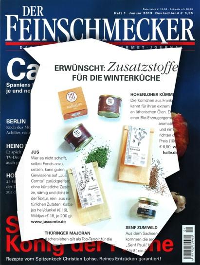 Der Feinschmecker - Dezember 2012