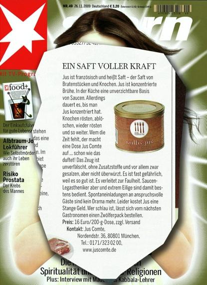 """Stern """"food+"""", November 2009"""